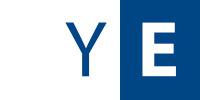 Blauweißes Logo der Yachtschule Eichler