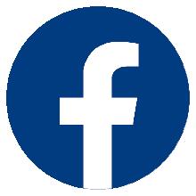 Facebooklogo (weißes F auf blauem Grund)